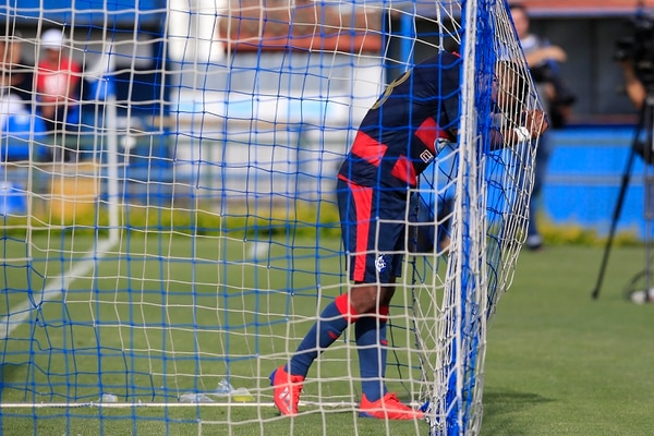 Julio Cruz sufrió con la botadera de goles en Cartago Foto: Rafael Pacheco