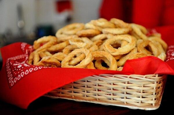 Las rosquillas son muy propias de Guanacaste. Foto Melissa Fernández Silva