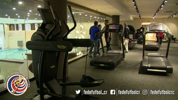 La Tricolor tendrá un buen gimnasio en su hotel. Foto: Cortesía Fedefutbol