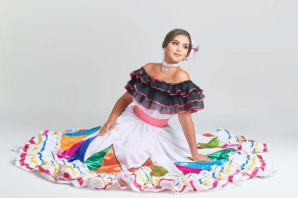 Camila Chinchilla, iba representando Isla del Coco, pues el concurso de belleza era para destacar belleza naturales de cada país participante. Archivo