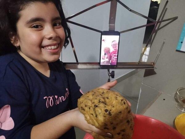 Las videollamadas con Zahid fueron su terapia inicial. Foto: Cortesía