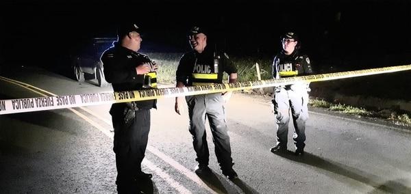 La Policía no ha podido dar con los sospechosos. Foto: Raúl Cascante.
