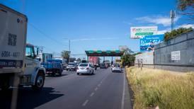 Peajes entre San José y San Ramón suben ¢25