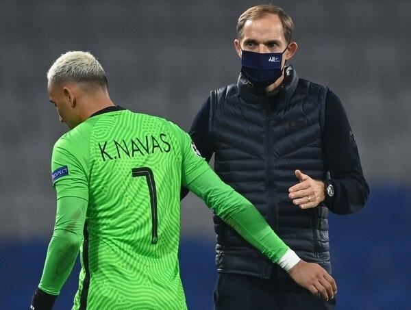 El entrenador alemán siempre destacó la labor de Keylor Navas. AFP