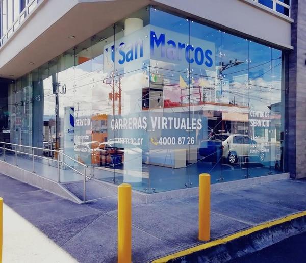 Nueva sede de la Universidad San Marcos en Cartago. Foto: Cortesía