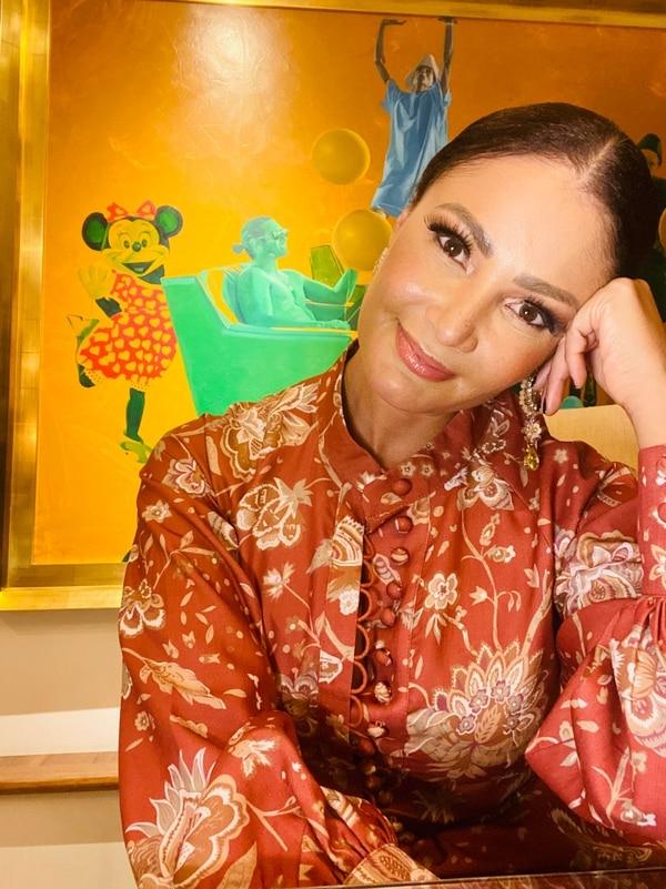 La presentadora Marilin Gamboa publicó que se encuentra bien y que iba a orar por todos los que han especulado y burlado de ella. Archivo