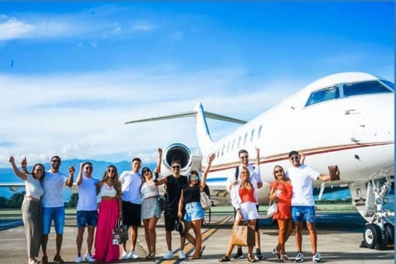 Keylor Navas de viaje en Cancún con sus amigos. Instagram.