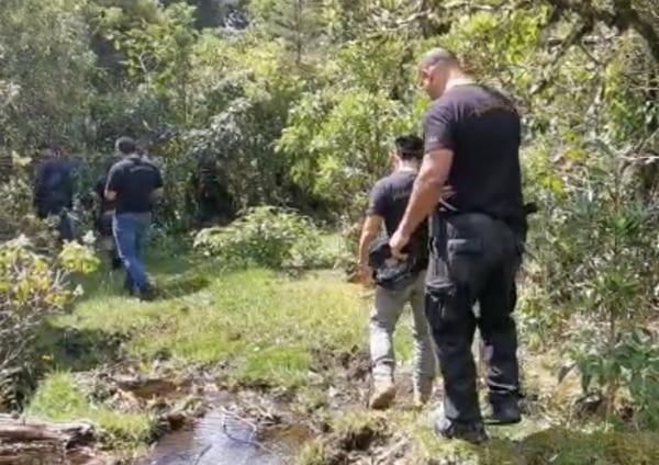 Los agentes recibieron informaciones confidenciales y por eso hicieron el rastreo. Foto: OIJ