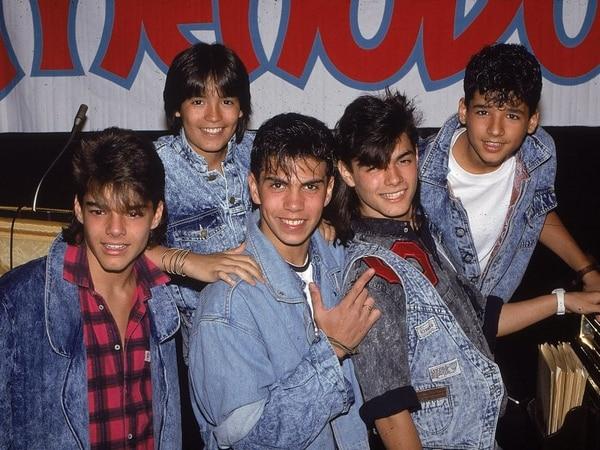 La fama le llegó a Ricky Martin cuando entró a formar parte del grupo en 1984, tras reemplazar a Ricky Meléndez. Archivo