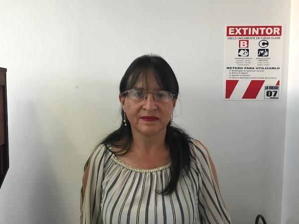 Doña Cecillia Solano aprovechará la platica del premio para hacer unos arreglos en la casa. Foto: Sucursal GN