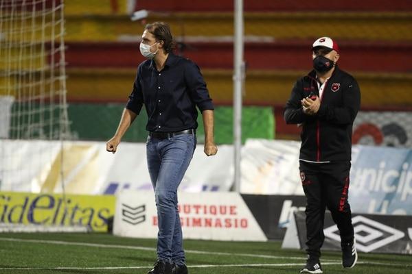 Mario Acosta tiene muy claro que ganar la 30 es meterse en la historia de Alajuelense. Fotografía José Cordero
