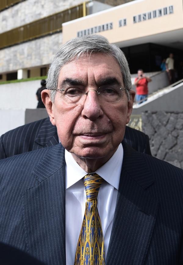 El registro en la casa del expresidente lo solicitó su propio abogado. (Photo by Miriet ABREGO / AFP)