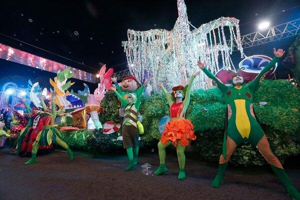 El Festival de la Luz se realizó el 15 de diciembre pasado y fue la segunda vez que el Museo de los Niños participó con una carroza. Foto: Albert Marín