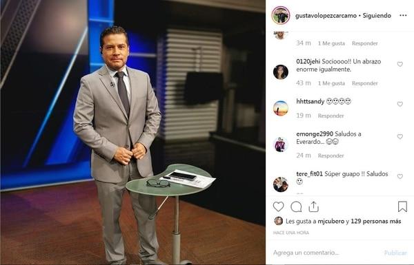 Para Tavo es imposible olvidar a Everardo. Instagram.
