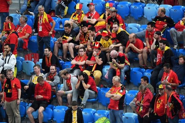 Bélgica fue sensación en la cancha, pero fuera no le generaba mucha ganancia a la FIFA. AFP