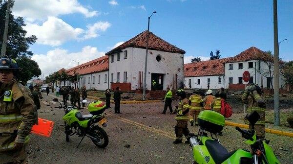 Por los momentos se confirmaron 5 muertos y 10 heridos. Foto AP.