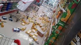 Temblor en la zona sur ha generado 65 réplicas en 17 horas