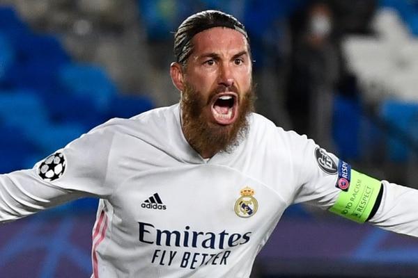 Sergio Ramos es el alma del Real Madrid. AFP