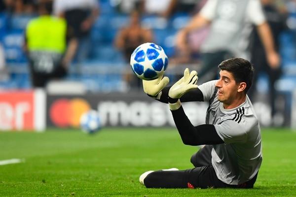 Navas espera que la próxima temporada en el Madrid la competencia por el arco sea justa con Thibaut Courtois, Foto: AFP.