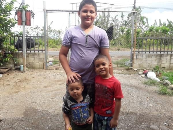 Yendry se esforzaba mucho para que a sus tres hijos no les hiciera falta nada. Foto cortesía Rigoberto Avendaño.