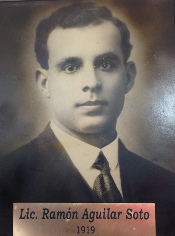Don Ramón tuvo el honor de ser el primer presidente de la Liga. Cortesía de José Antonio Pastor
