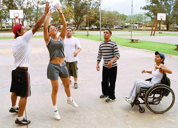 Heidy probó con el baloncesto, pero desistió porque sintió que era un deporte muy brusco para ella. Eyleen Vargas, Archivo La Nación