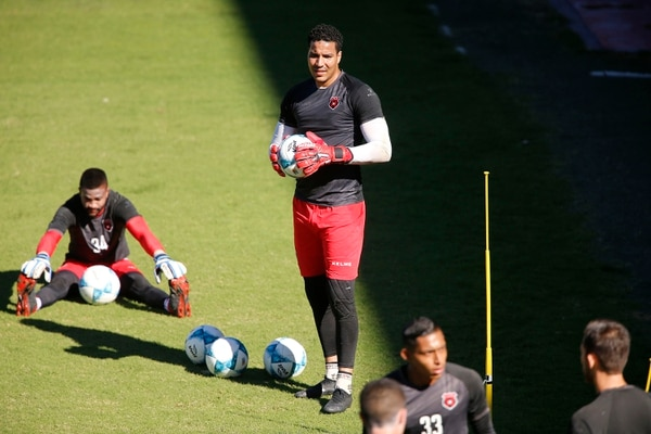 Esteban no jugó ni un minuto en un partido oficial con la Liga. Foto: Albert Marín.