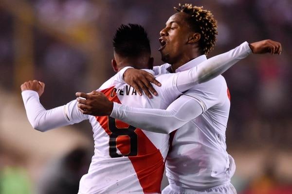 Peru sacó el triunfo 1-0 ante los ticos. AFP