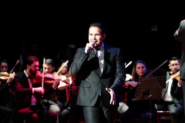 Eduardo Aguirre cantará junto a la Orquesta Filarmónica un tema de Luis Miguel. Foto: Alonso Tenorio