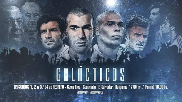 Los Galácticos del Real Madrid marcaron una época en la historia del fútbol. Foto: ESPN.