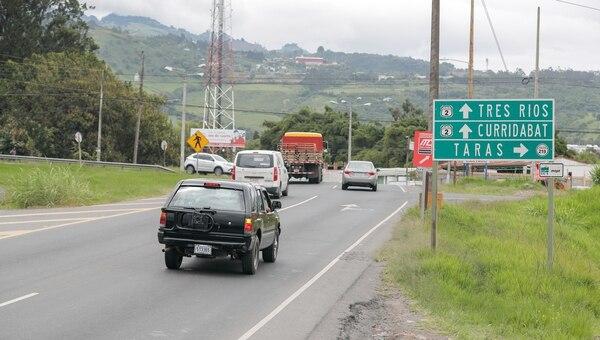 La vía tendrá al menos un carril habilitado. Foto: Jeffrey Zamora.