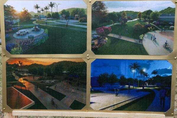 Remodelación parque en Pavas. Foto: Municipalidad de San José.