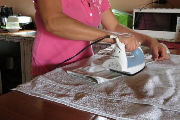 Las trabajadoras domésticas serán de las primeras en ser vacunadas contra el Covid-19. Archivo.