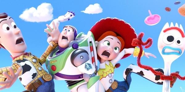 El tenedor Forky es la novedad en la nueva cinta. Pixar.