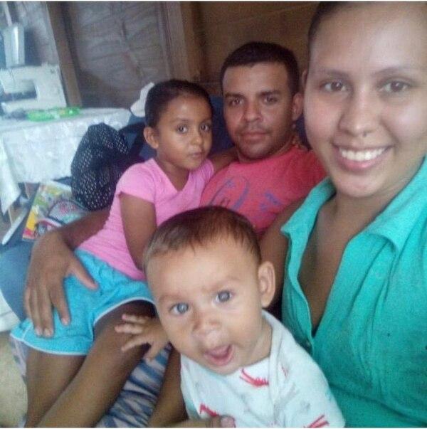 Lidia y su familia viven en Sarapiquí