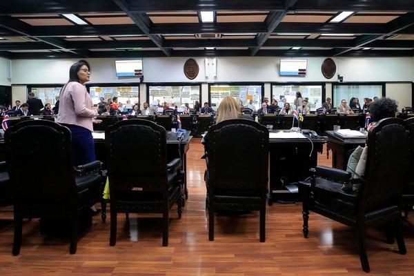 05/10/2018 Asamblea Legislativa. Primer debate de la reforma fiscal en el Plenario Legislativo. Foto: Rafael Pacheco