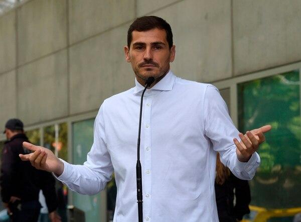 Iker Casillas anuncia su candidatura a la presidencia de la ...