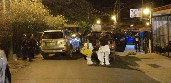 El ataque ocurrió el lunes en la noche. Foto: Francisco Barrantes, archivo GN