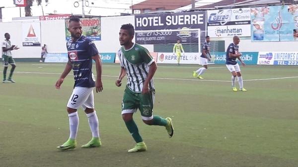 Shain Brown y Limón fueron mucha carga para el Cartaginés este miércoles. Foto: prensa Limón FC