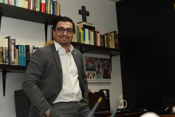 El presi está listo para una nueva fiesta, pero deberá pasarle por encima a la Liga. CARLOS GONZALEZ/AGENCIA OJOPOROJO.
