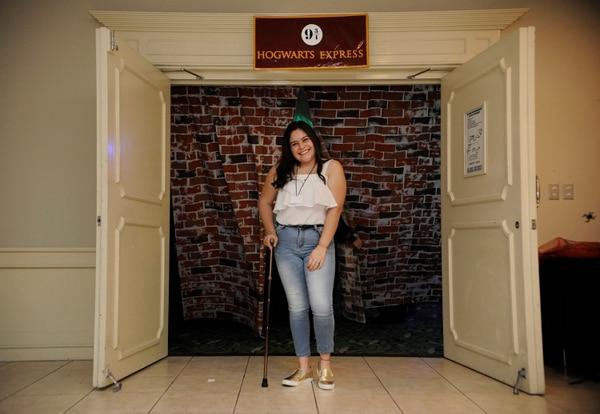 Keilyn logró vencer el cáncer de médula ósea y ganar bachillerato en este 2018. Foto Rafael Murillo.