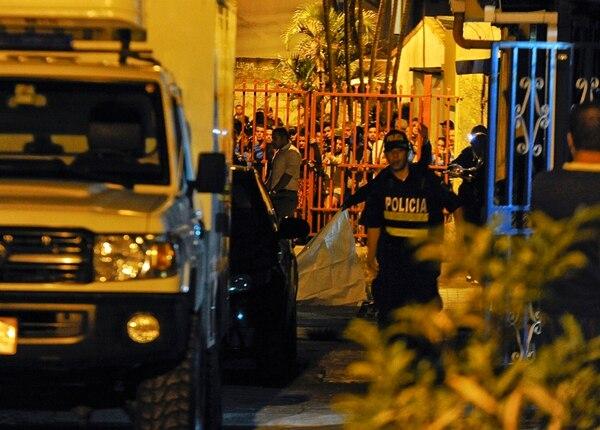 El ataque se dio el 21 de abril del 2014 en el barrio La Valencia de San Rafael Abajo de Desamparados. Foto: Mayela López.