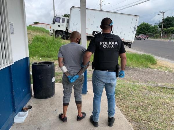 Los sospechosos son de apellidos Arias Vásquez, Gutiérrez Umaña, Soriano Padilla y Moraga Alemán. Foto: OIJ