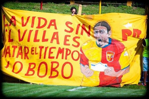 Bigote es un ídolo de la institución y por eso le permiten darse algunos lujos. Foto: Futbol.uy