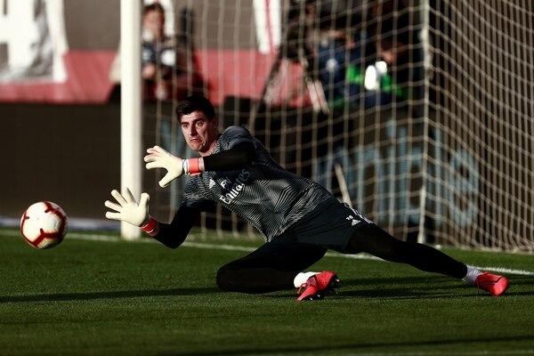 Thibaut Courtois deberá usar el 13 en su espalda. Foto: Benjamin Cremel / AFP