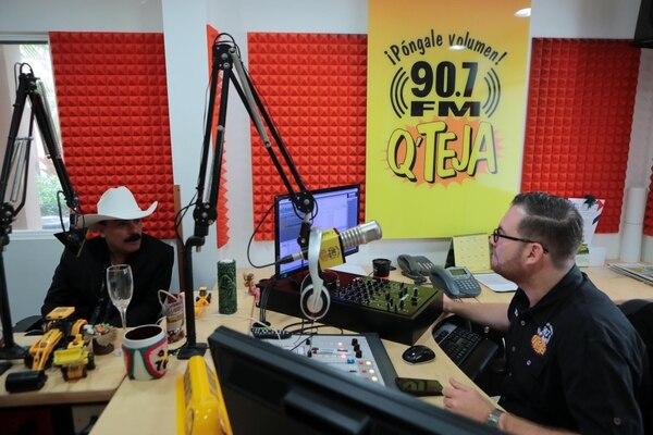 Chapo hasta lloró en su entrevista con el Padre Mix.Foto Alonso Tenorio
