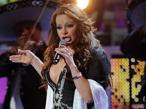 """La llamada """"Diva de la Banda"""" , nacida en California de padres mexicanos, se encontraba en la cima de su carrera. Incluso protagonizó con su familia su propio reality show. AFP"""