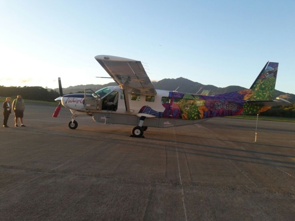 Esta sería la avioneta que se estrelló en Nandayure. Foto Eduardo Vega.