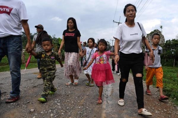 La llegada de turistas ha incrementado en la zona. AFP