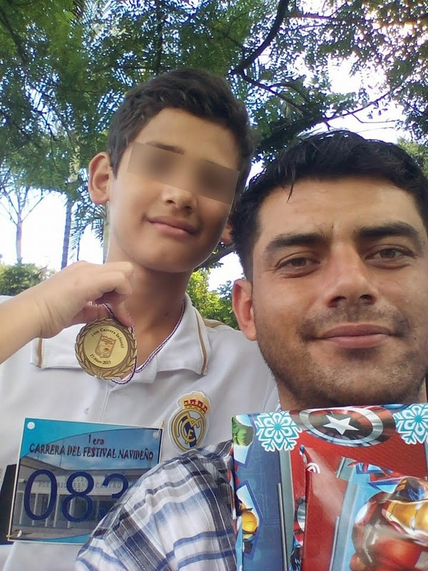 Rodríguez luchó por la custodia de sus hijos y debió vencer a la madre y al Pani. Foto: Cortesía